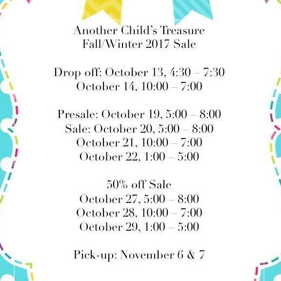 consignment sale-oct